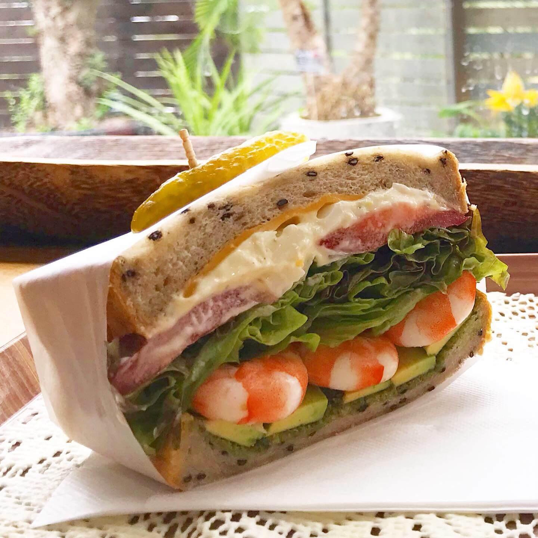 写真:エフェクトのサンドイッチ