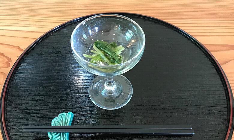 写真:糸島会席料理「風音」の前菜