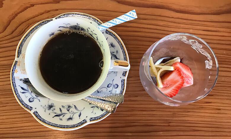 写真:糸島会席料理「風音」のデザート