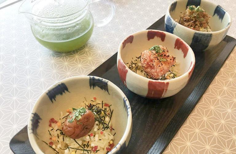 写真:お茶漬け専門店「茶飯処 博多茶鳳」のお茶漬けセット