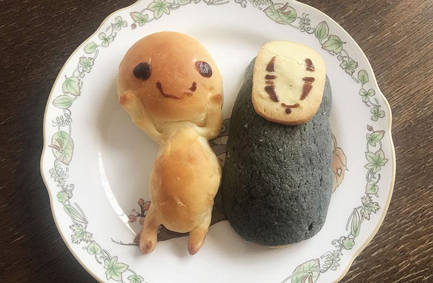 パン:こだまちゃん、カオナシ