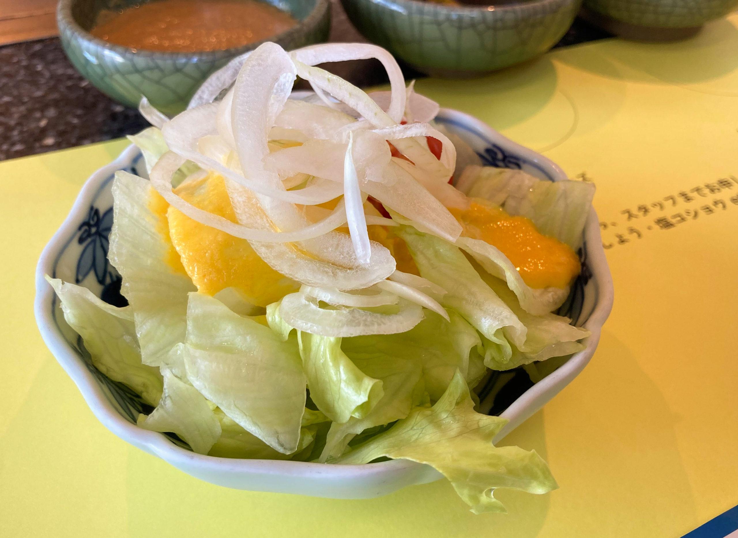 写真:ライおンのサラダ