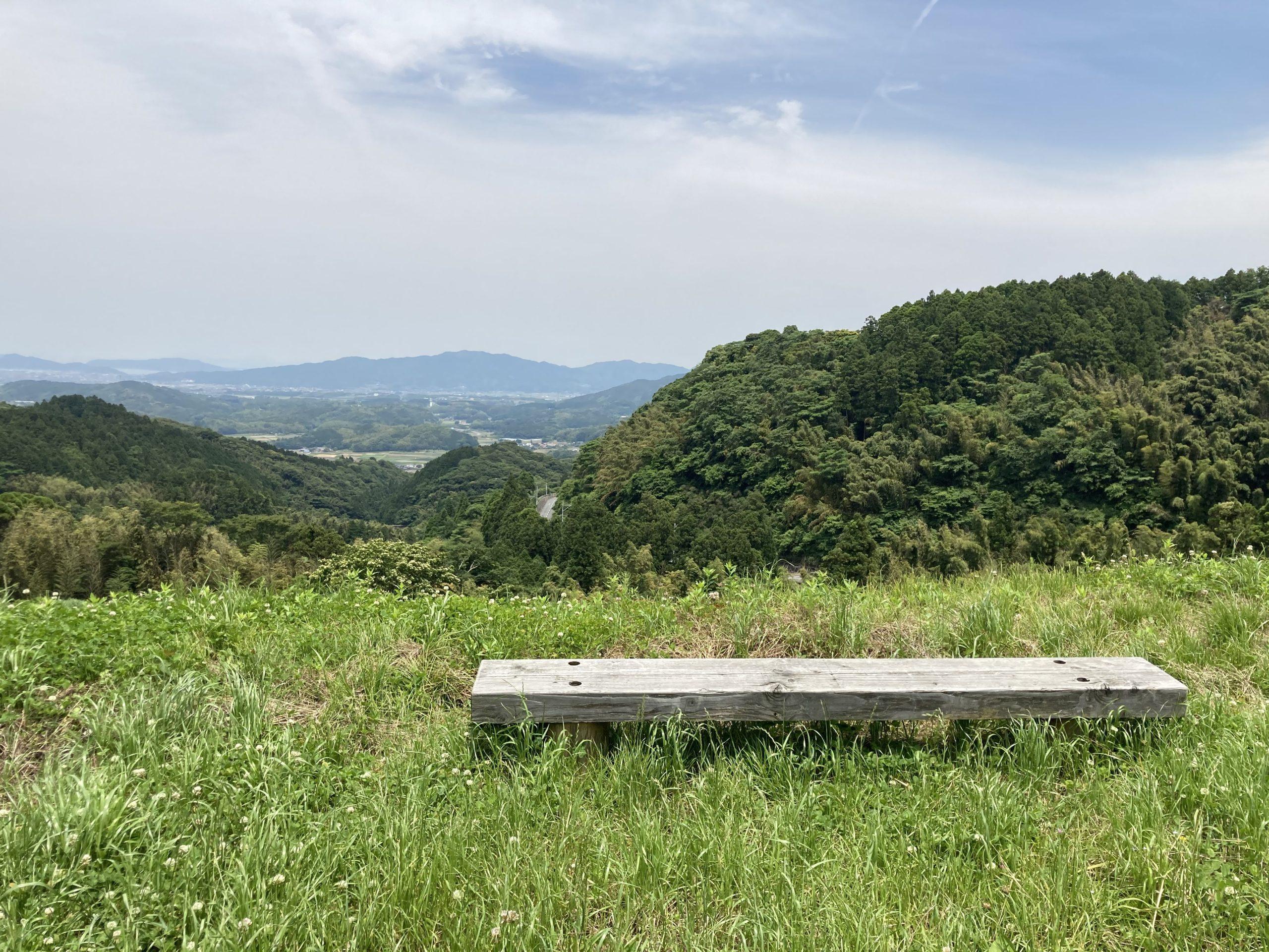 写真:白糸からの景色